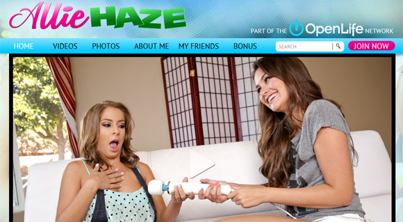 Enter Allie Haze!
