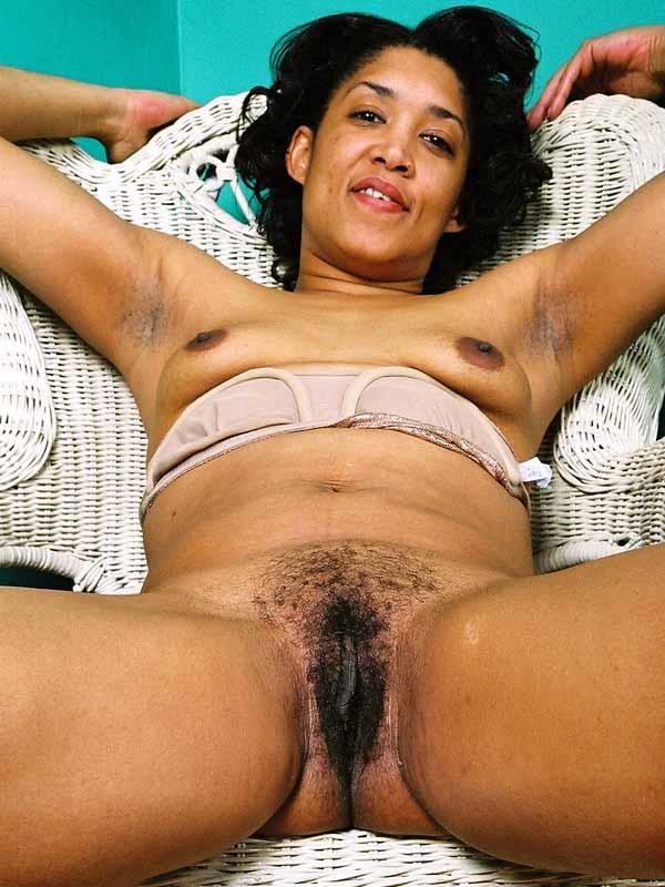 Hairy big butt black women were visited