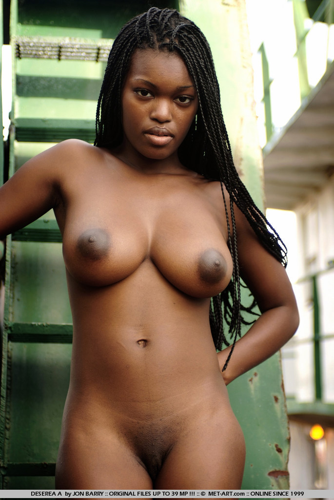 Dark skin ebony girl solo first time man 2