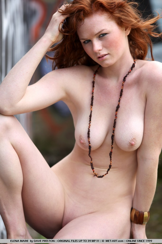 Got non nude freckled redhead Pro Slut! would
