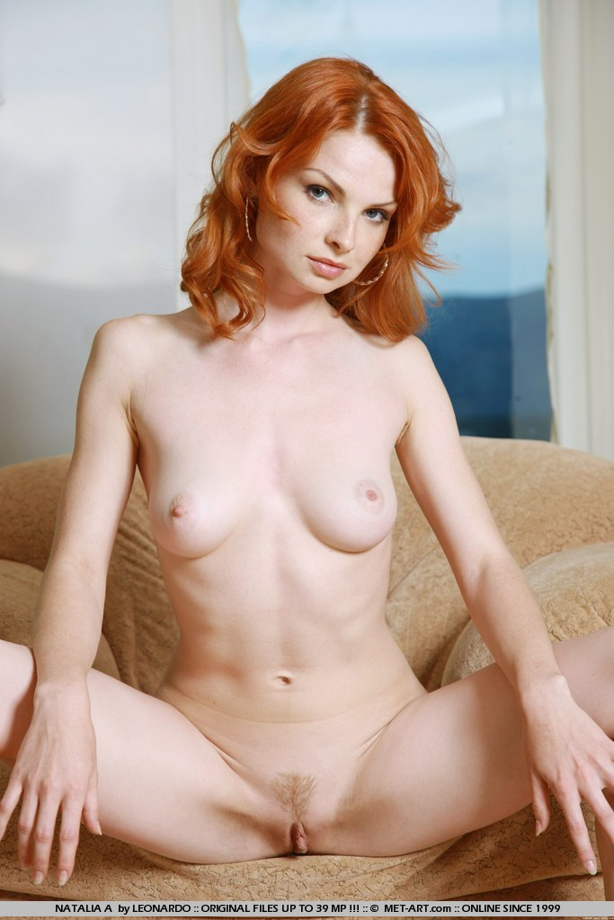Girls with naked freckles Hot redhead