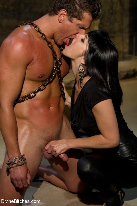 image Bdsm man secretary slave two youthfull