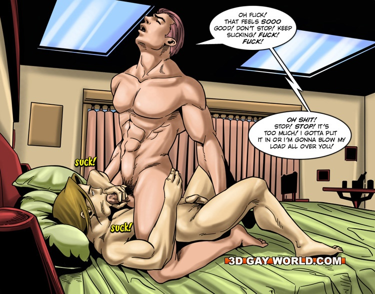 Free gay erotic cartoons