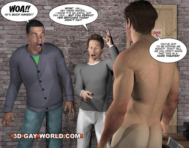 cartoons Nude gay boys