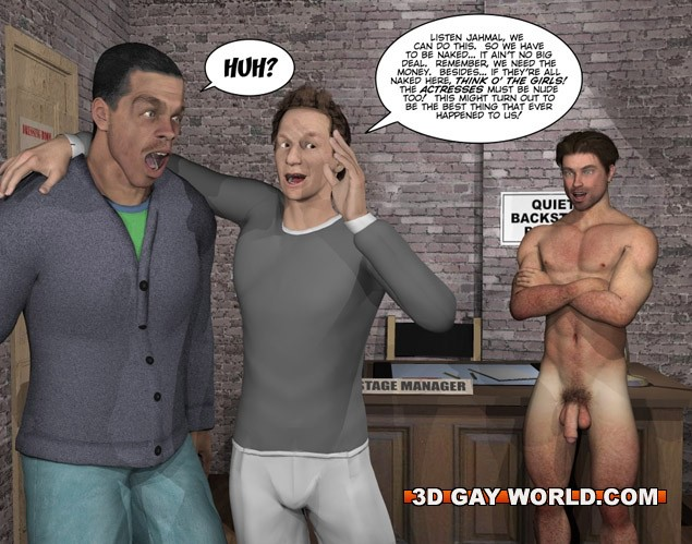 cartoons naked male Gay