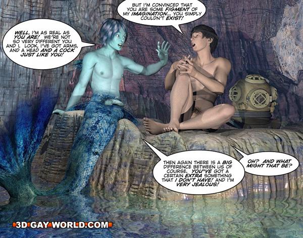from Brycen gay mermen manga