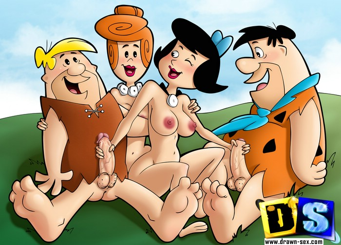Flintstones Cartoon Couples Don T Mind Hardcore Swinger Party