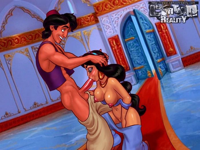 Toon Princess Jasmine is always ready for cock - Picture 1