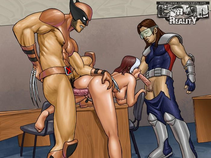 marvel girls hot nude