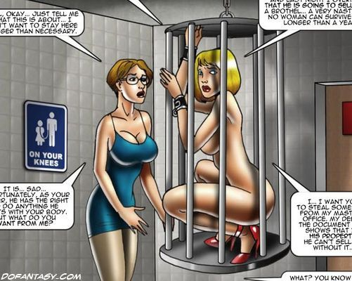 Bdsm xxx caged sub signs his body mind into his mistresses 6