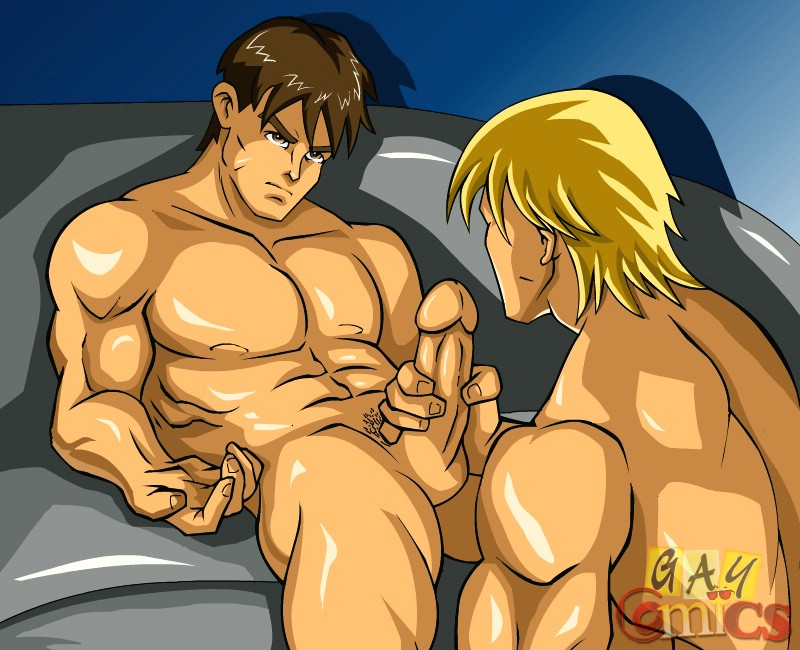 Gay cartoon sex
