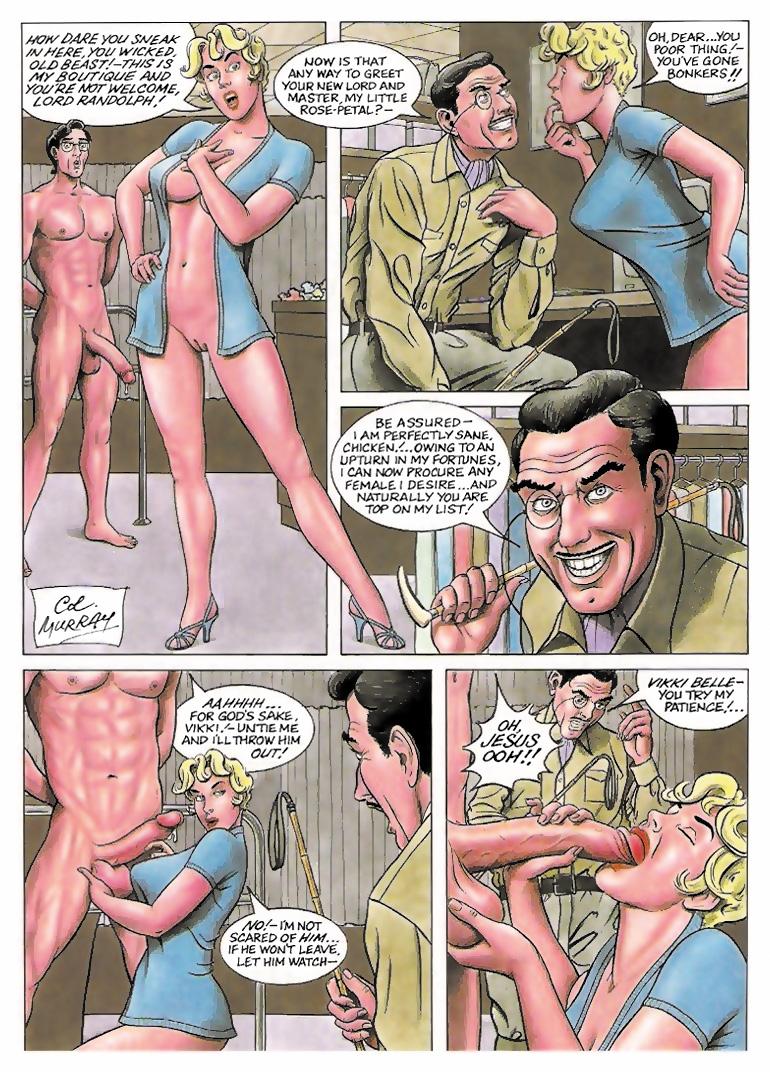 3d adult comic story