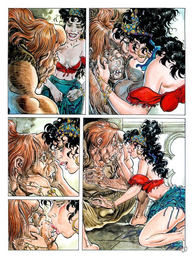 Medieval sex comics interracial — photo 6