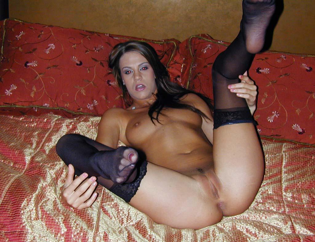 Addison rose in pantyhose