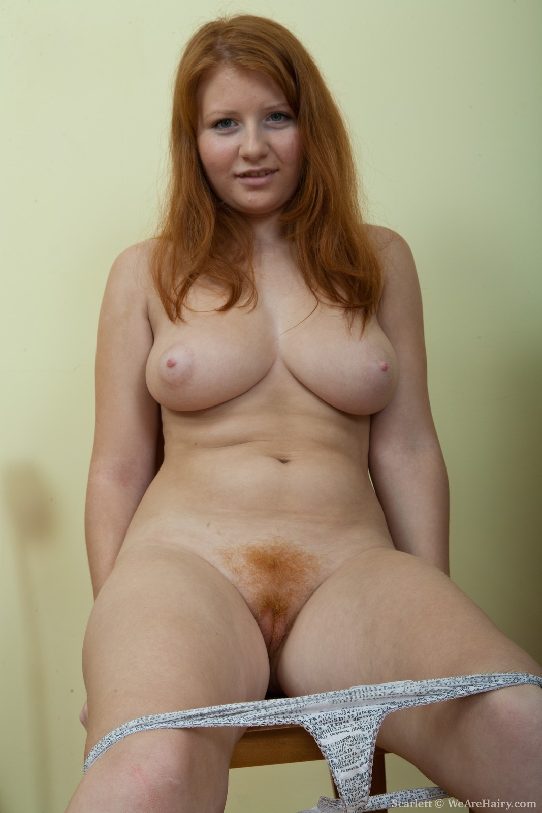 Hairy Red Haired Girl Naked