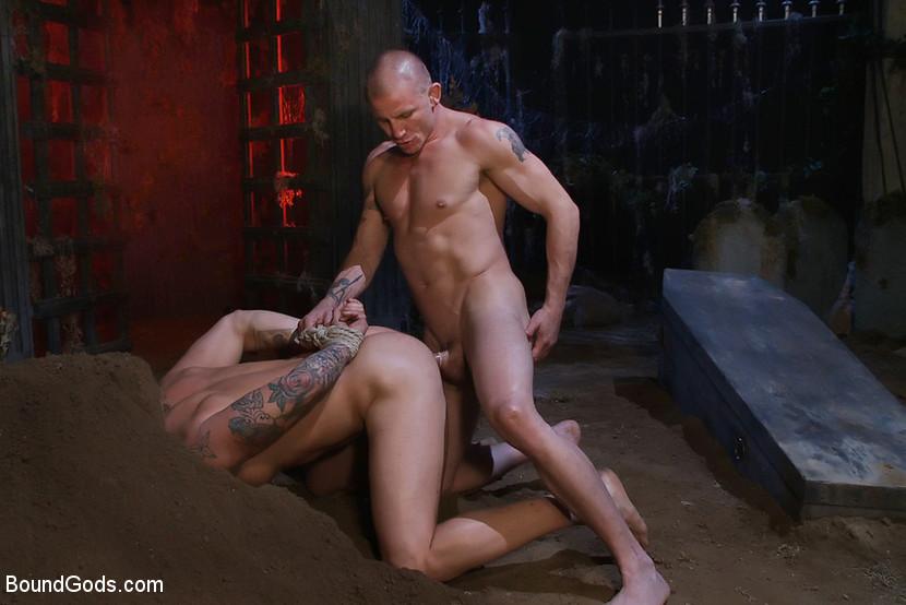 Gay handcuff bondage photos