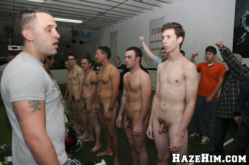 Gay Fraternity Initiation For Group Of Straight Dudes