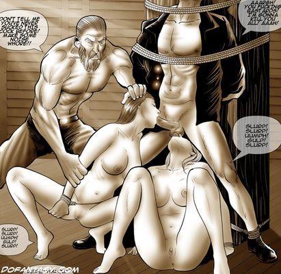 Naked HD Hentai girls tortured