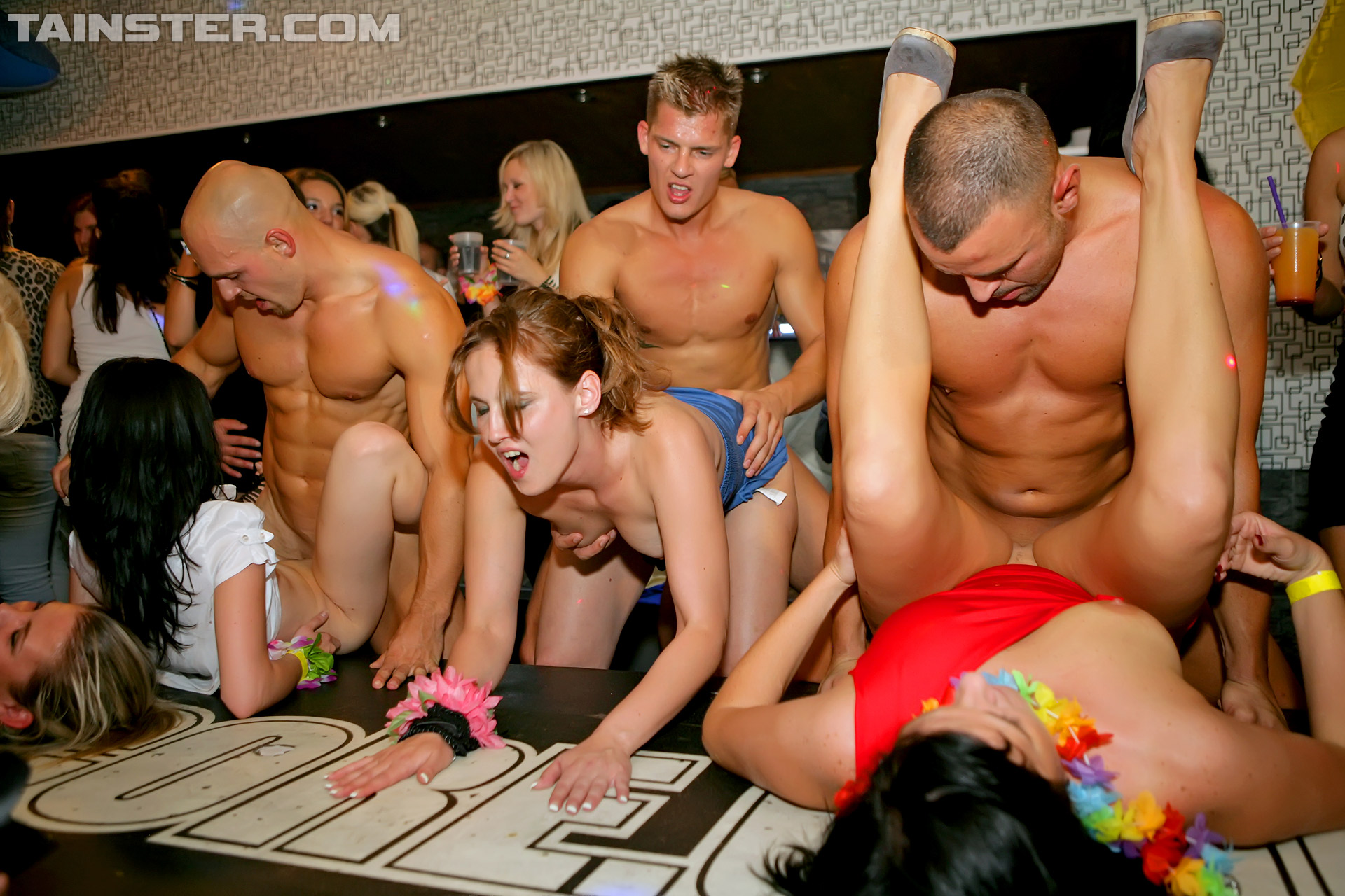wild party girls having sex