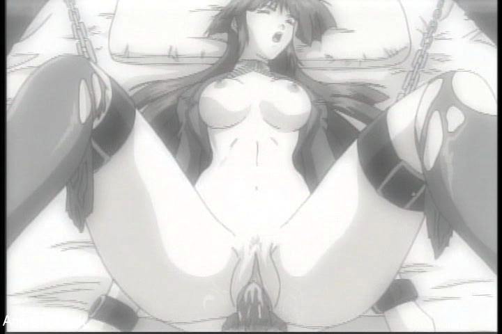 Bdsm art pics os naked brunette hentai beauty gets her - Picture 12