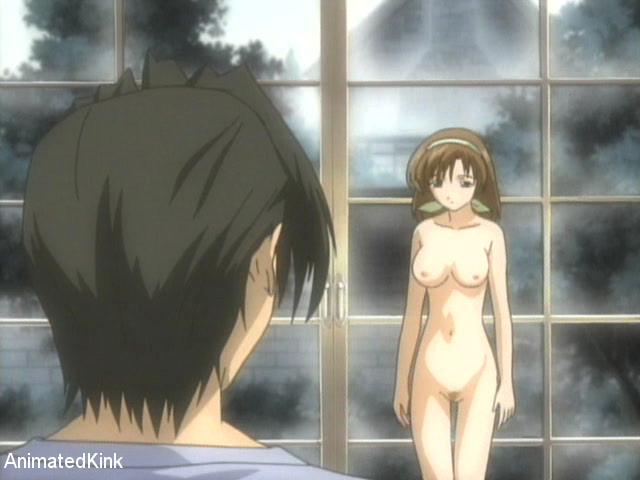 Bdsm art pics of tied up brunette anime nymph forced to - Picture 13