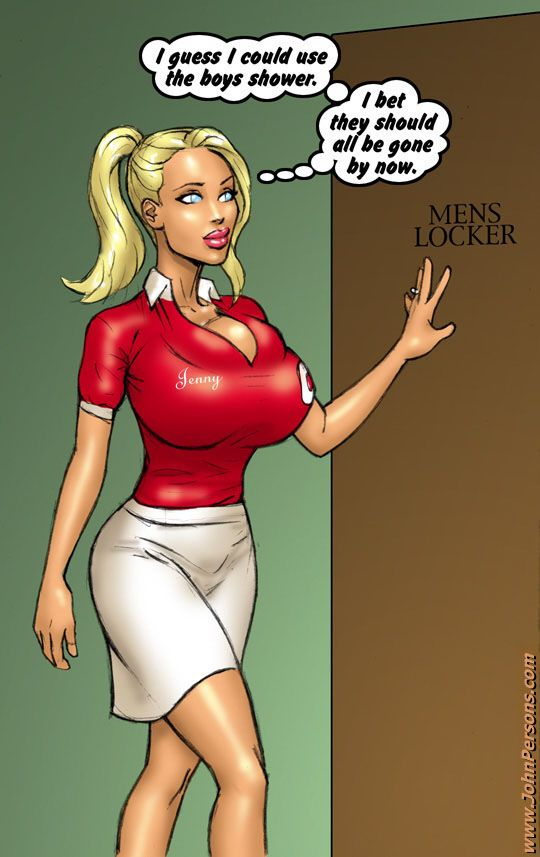 Xxx interracial cartoon porn pics of blonde busty - Picture 4