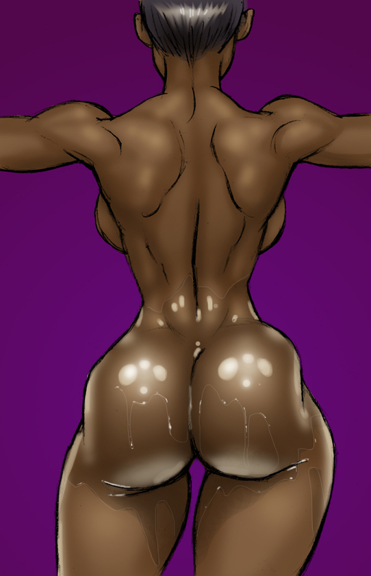 White cartoon beauties need at least two black dongs - Picture 3