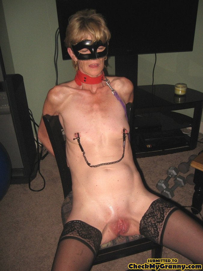 Granny who enjoy bondage