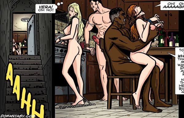 These bdsm comics naked slave babes - BDSM Art Collection - Pic 6