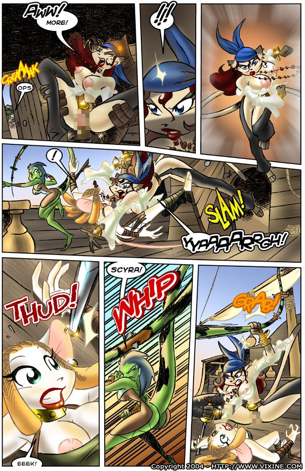 Pirate cartoon comics porn