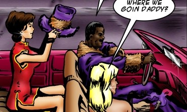Hot interracial fucking cartoon with cool - Cartoon Sex - Picture 1