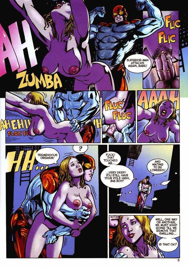 Читать порно комиксы с супергероями