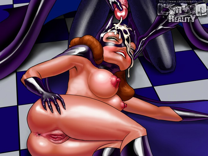 Slutty Batgirl loves fucking with a Superman - Cartoon Sex - Picture 3