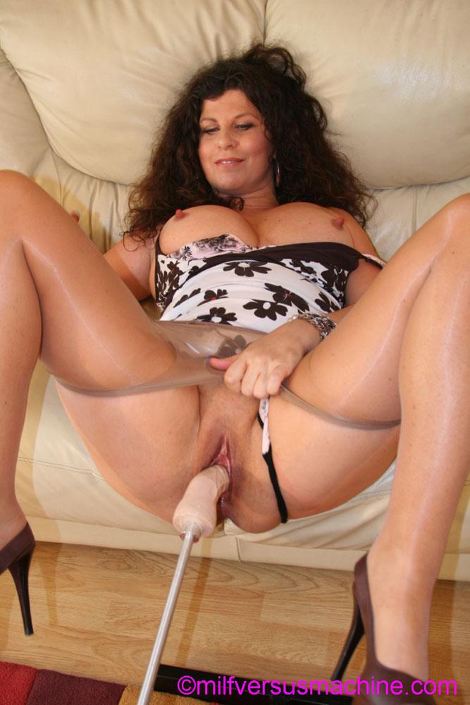 pantyhose mom
