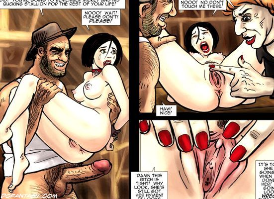 Very hot cartoon chicks get captured - BDSM Art Collection - Pic 6