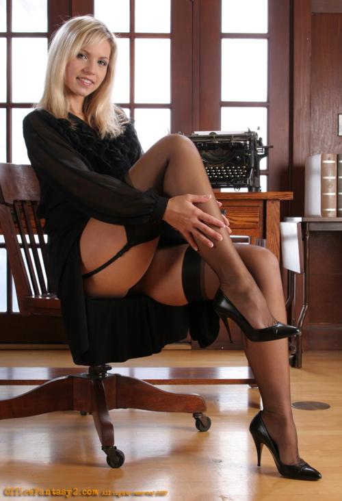 Secretary stockings galleries