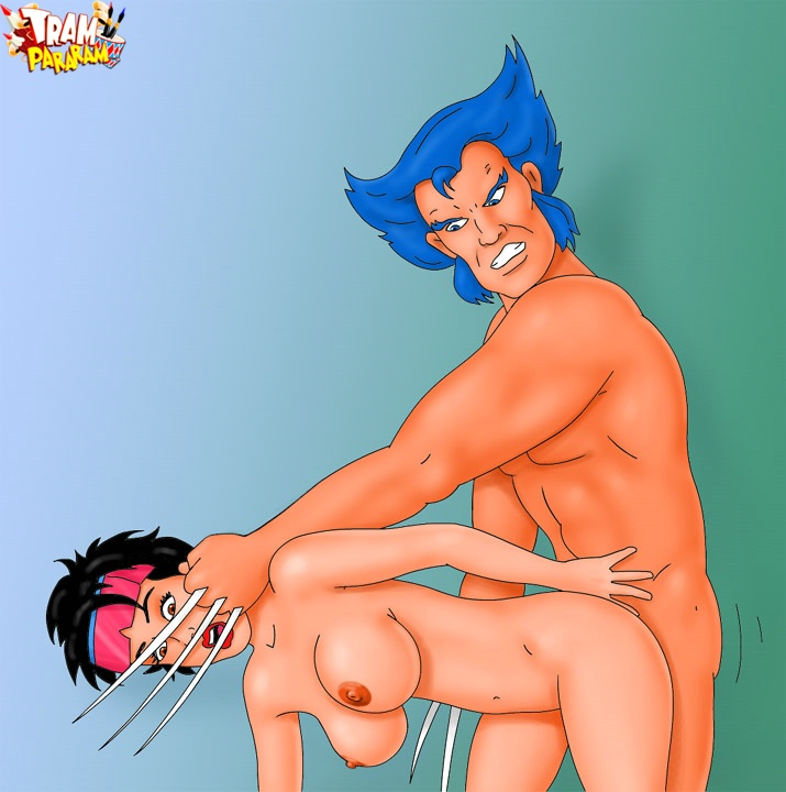 Wolverine takes a young student to be his sensual slave ...