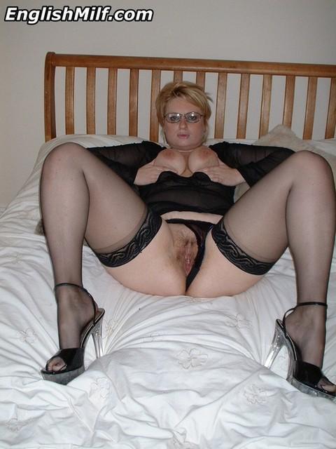 Sarah English Mature Stockings Panties