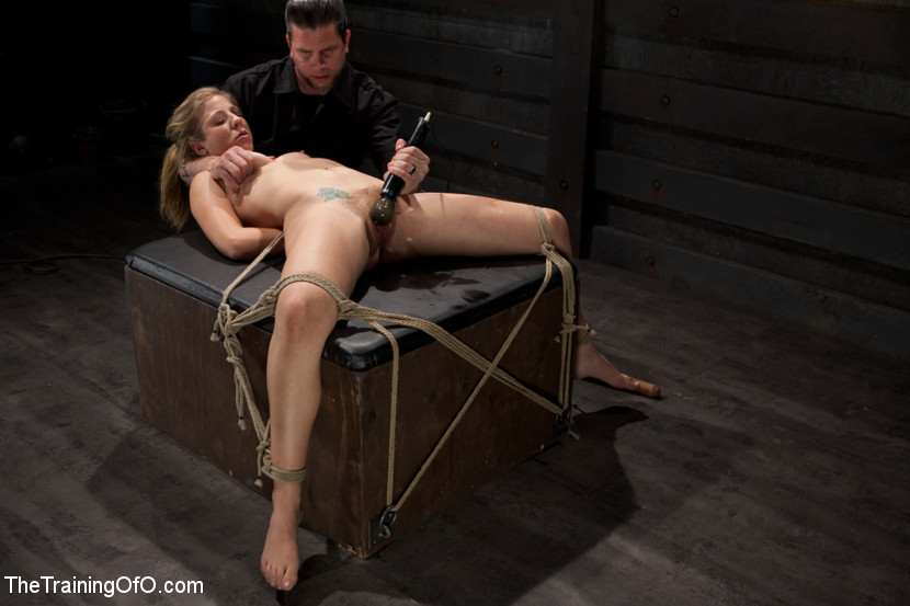 Girl tied and fucked gif