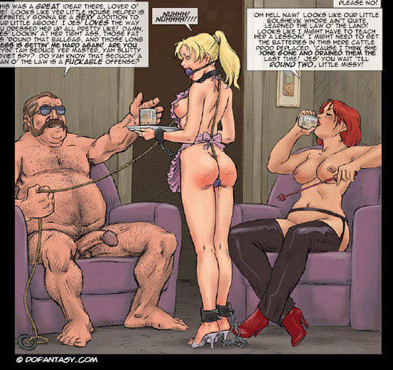 Very hot enslaved girls in cuffs and - BDSM Art Collection - Pic 1