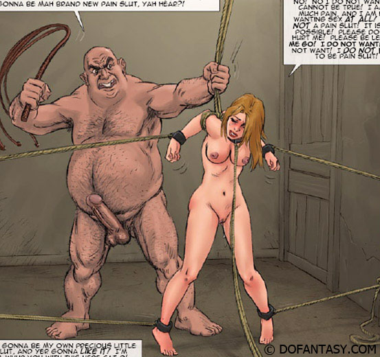 Very hot enslaved girls in cuffs and - BDSM Art Collection - Pic 2