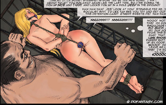 Very hot enslaved girls in cuffs and - BDSM Art Collection - Pic 3