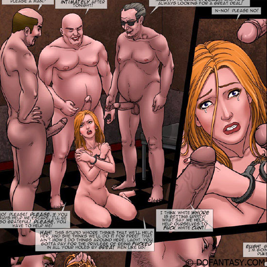 Gorgeous chicks enchained and with - BDSM Art Collection - Pic 4