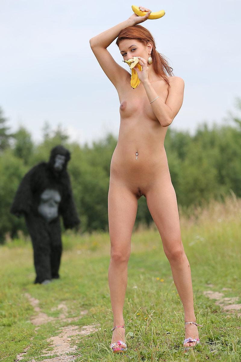 Обезьяны женщины секс фото