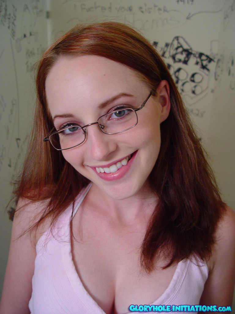 Glasses redhead mature librarian