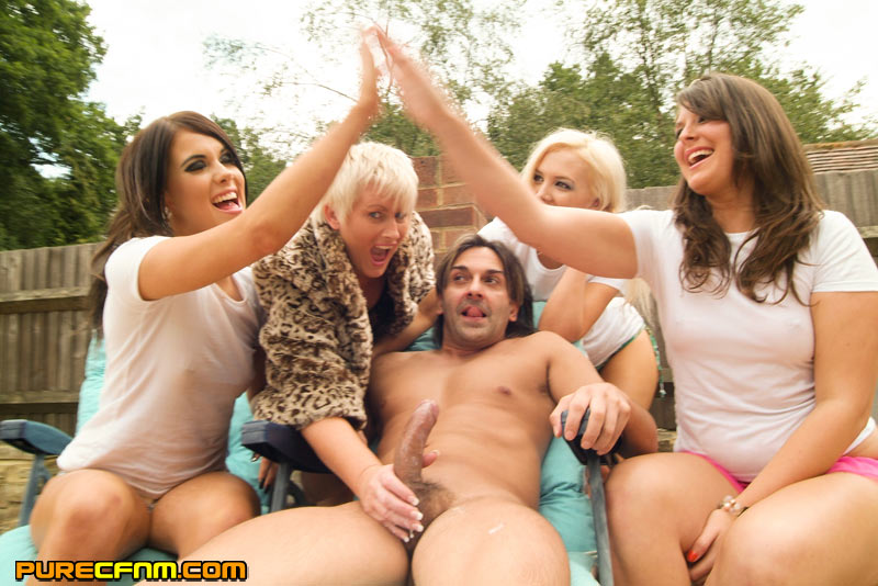 Party hand job