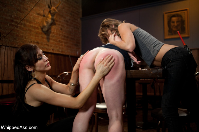 lesbian threesome domination