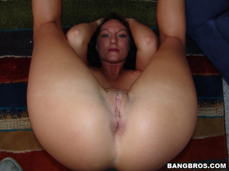 Milf stuck to boob