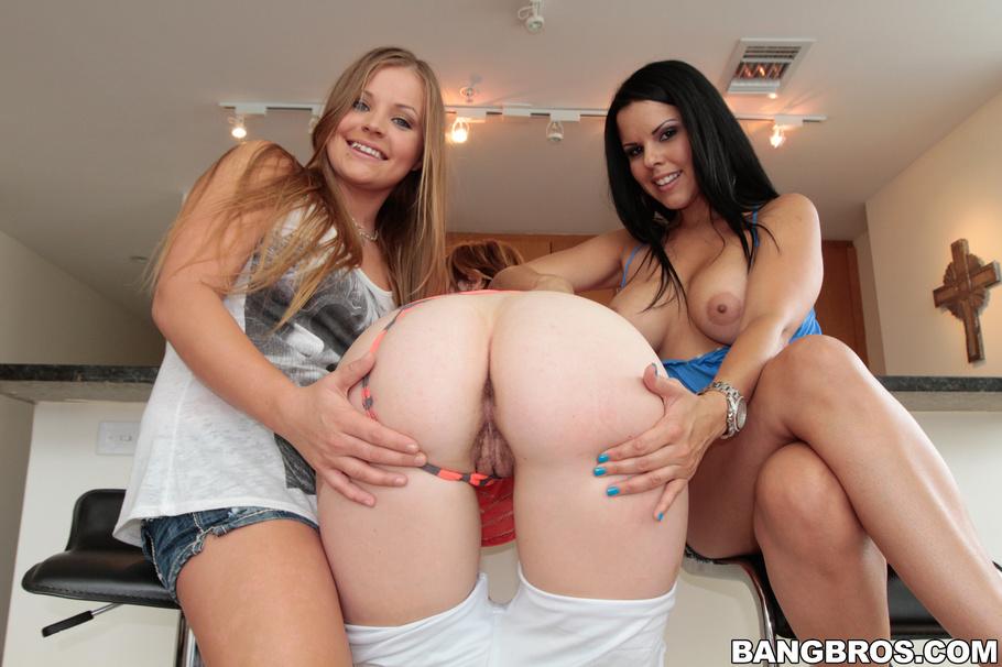 Enormes tetas lesbianas amateur