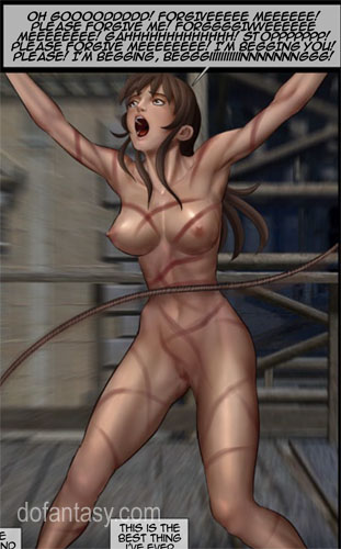Poor enslaved girls in boots tortured - BDSM Art Collection - Pic 4